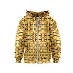 Ethnic Traditional Vintage Background Abstract Kids  Zipper Hoodie