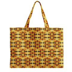 Ethnic Traditional Vintage Background Abstract Zipper Mini Tote Bag