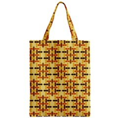 Ethnic Traditional Vintage Background Abstract Zipper Classic Tote Bag