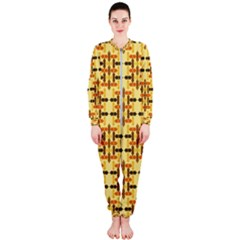 Ethnic Traditional Vintage Background Abstract Onepiece Jumpsuit (ladies)