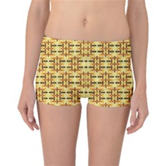 Ethnic Traditional Vintage Background Abstract Boyleg Bikini Bottoms