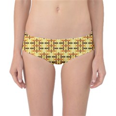 Ethnic Traditional Vintage Background Abstract Classic Bikini Bottoms