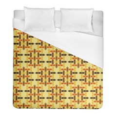Ethnic Traditional Vintage Background Abstract Duvet Cover (full/ Double Size)