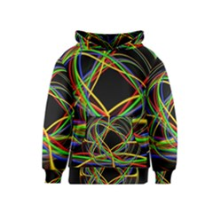 Ball Abstract Pattern Lines Kids  Pullover Hoodie