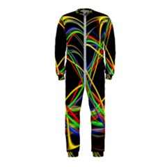Ball Abstract Pattern Lines Onepiece Jumpsuit (kids)