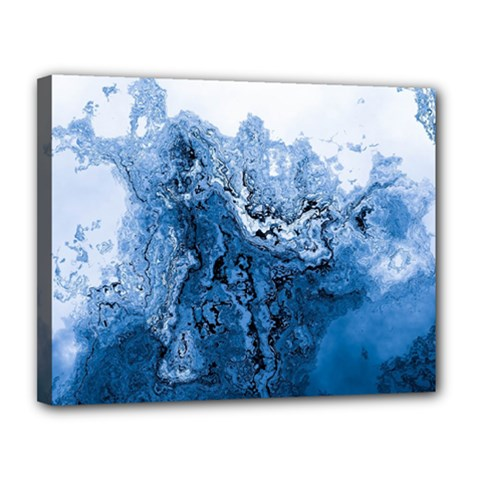 Water Nature Background Abstract Canvas 14  X 11