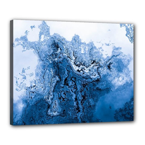 Water Nature Background Abstract Canvas 20  X 16