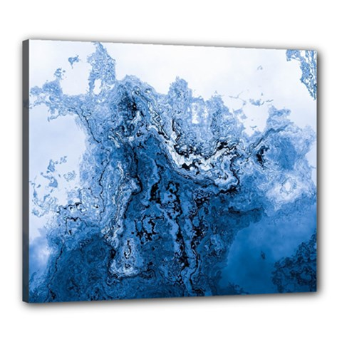 Water Nature Background Abstract Canvas 24  X 20