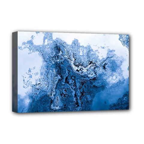 Water Nature Background Abstract Deluxe Canvas 18  X 12