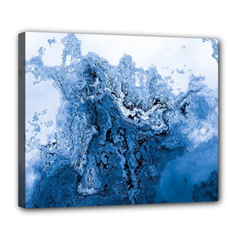 Water Nature Background Abstract Deluxe Canvas 24  X 20