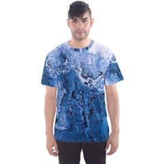 Water Nature Background Abstract Men s Sports Mesh Tee