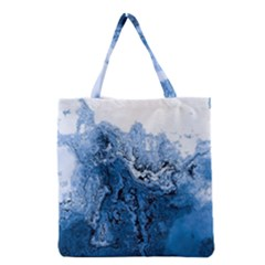 Water Nature Background Abstract Grocery Tote Bag