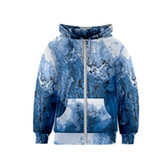 Water Nature Background Abstract Kids  Zipper Hoodie