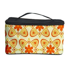 Background Floral Forms Flower Cosmetic Storage Case