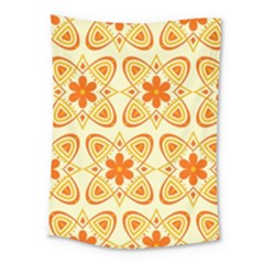 Background Floral Forms Flower Medium Tapestry