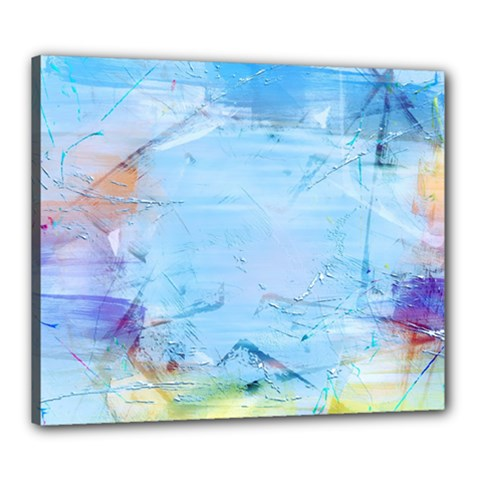 Background Art Abstract Watercolor Canvas 24  X 20