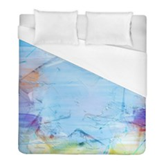 Background Art Abstract Watercolor Duvet Cover (full/ Double Size) by Nexatart