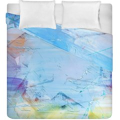 Background Art Abstract Watercolor Duvet Cover Double Side (king Size)
