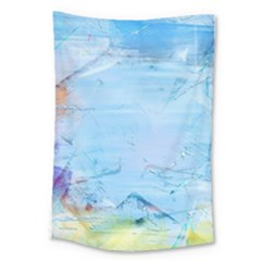 Background Art Abstract Watercolor Large Tapestry