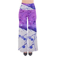 Art Painting Abstract Spots Pants