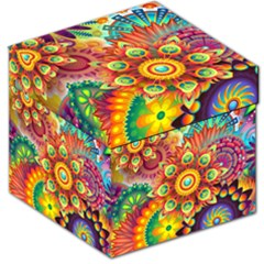 Colorful Abstract Background Colorful Storage Stool 12