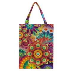 Colorful Abstract Background Colorful Classic Tote Bag
