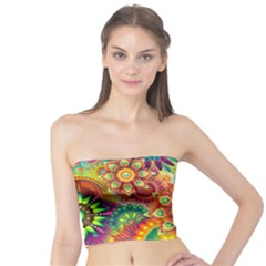 Colorful Abstract Background Colorful Tube Top