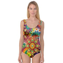 Colorful Abstract Background Colorful Princess Tank Leotard