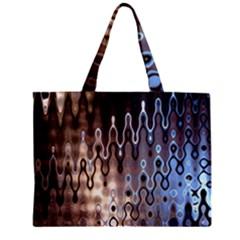 Wallpaper Steel Industry Zipper Mini Tote Bag