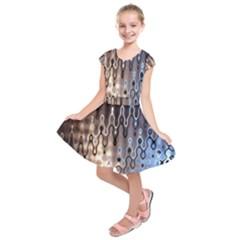 Wallpaper Steel Industry Kids  Short Sleeve Dress