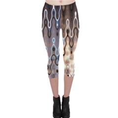 Wallpaper Steel Industry Capri Leggings
