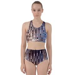 Wallpaper Steel Industry Racer Back Bikini Set