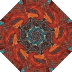 Creativity Abstract Art Hook Handle Umbrellas (large)