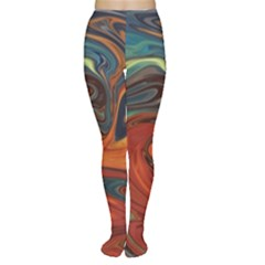 Creativity Abstract Art Women s Tights