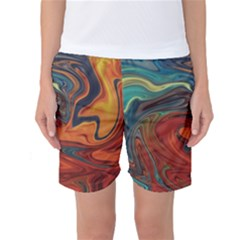 Creativity Abstract Art Women s Basketball Shorts