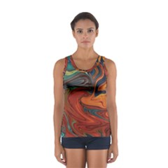 Creativity Abstract Art Sport Tank Top