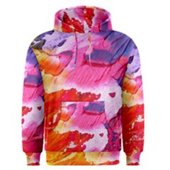 Abstract Art Background Paint Men s Pullover Hoodie
