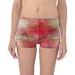 Background Art Abstract Watercolor Boyleg Bikini Bottoms