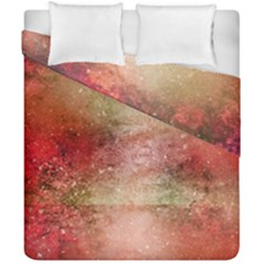 Background Art Abstract Watercolor Duvet Cover Double Side (california King Size)