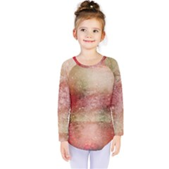 Background Art Abstract Watercolor Kids  Long Sleeve Tee