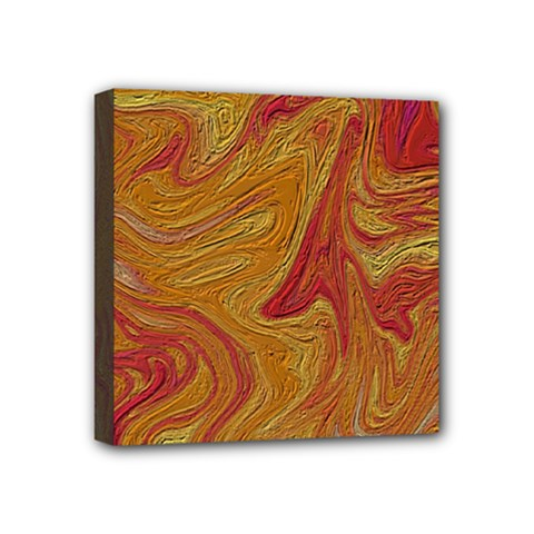 Texture Pattern Abstract Art Mini Canvas 4  X 4