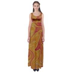 Texture Pattern Abstract Art Empire Waist Maxi Dress by Nexatart