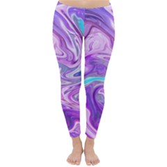 Abstract Art Texture Form Pattern Classic Winter Leggings