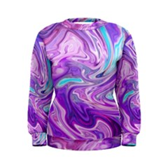 Abstract Art Texture Form Pattern Women s Sweatshirt
