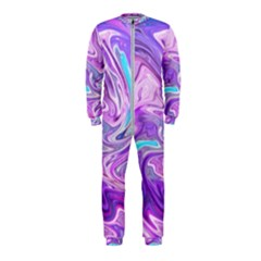 Abstract Art Texture Form Pattern Onepiece Jumpsuit (kids)