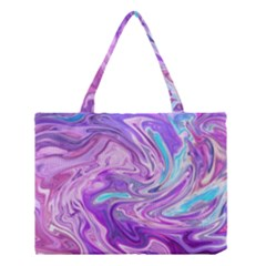 Abstract Art Texture Form Pattern Medium Tote Bag