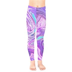 Abstract Art Texture Form Pattern Kids  Legging