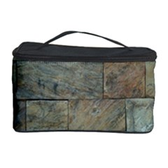 Wall Stone Granite Brick Solid Cosmetic Storage Case