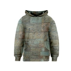Wall Stone Granite Brick Solid Kids  Pullover Hoodie
