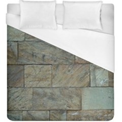 Wall Stone Granite Brick Solid Duvet Cover (king Size)
